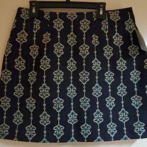 Zara Basic Paisley Skirt